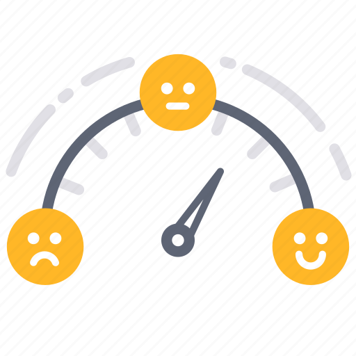 comment, customer services, feedback, gauge, measure, reviews, satisfaction icon