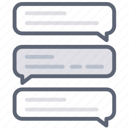 chat, comment, conversation, feedback, message, speech, support icon