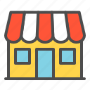 e commerce, market, online, shop, store icon
