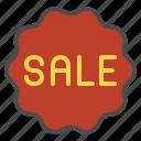 online, sale, shop, sign icon