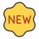 new, online, shop, sign icon