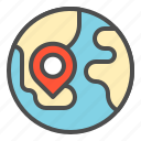location, map, online, place, shop icon