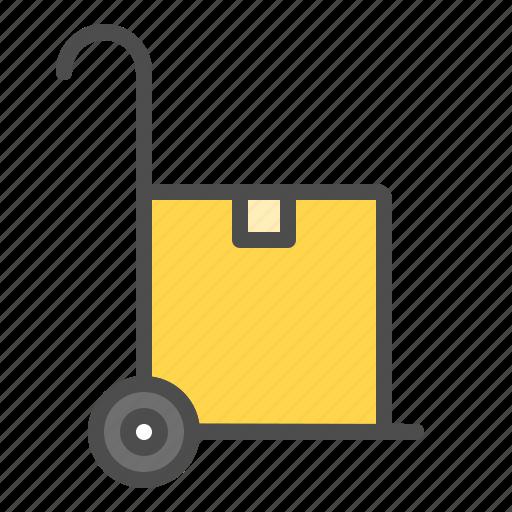 box cart, cart, online, shop icon
