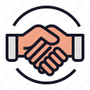 business, deal, economics, ggreement, handshake icon
