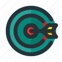 business, goal, target icon
