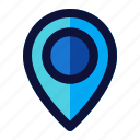 business, finance, location, pin icon