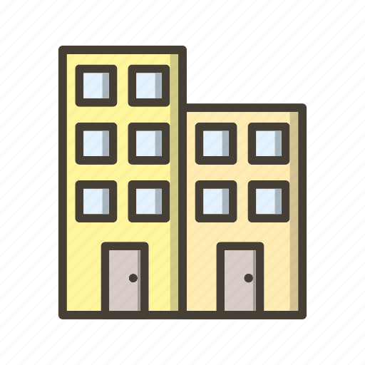 building, business, hotel, office icon