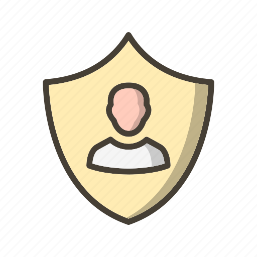 business protection, protection, shield icon