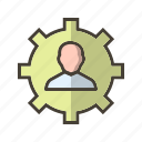 management, manager, profile, user icon