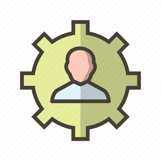 management, manager, user icon