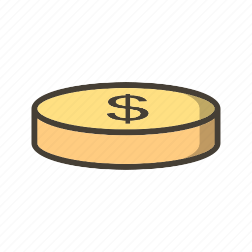Coin, dollar, money icon - Download on Iconfinder