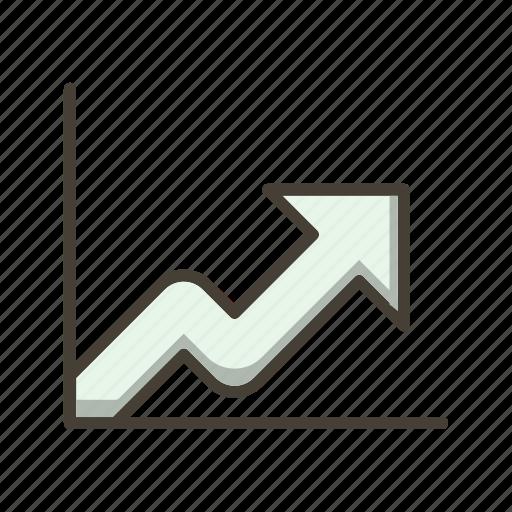analysis, graph, growth, statistics icon