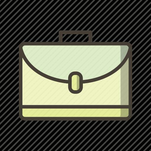 briefcase, documents, portfolio, suitcase icon