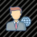 employee, global, world, business, internet, media, network