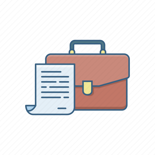 audit, bag, business, documents, folder, office, papers icon