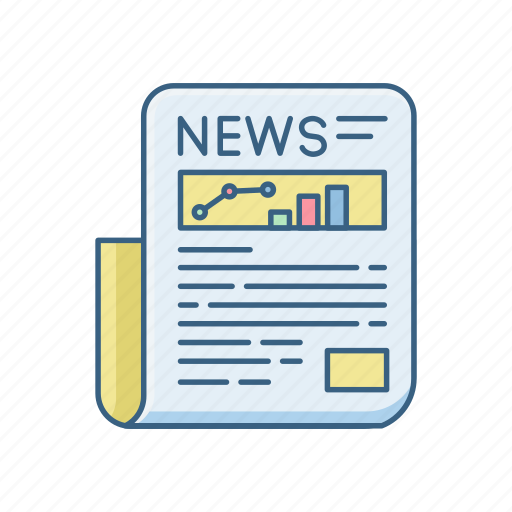 article, blogs, media, network, news, newspaper, sheet icon