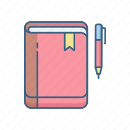 business, document, folder, office, pen, professional, work icon