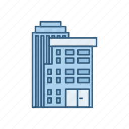 building, business, construction, office, real estate, work icon