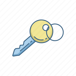 access, key, lock, password, privacy, safe, security icon