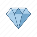business, diamond, jewel, jewellery, office, quality, work icon