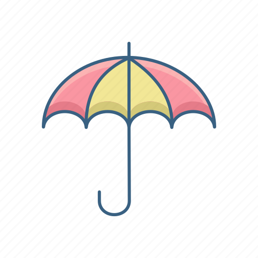 insurance, investment, mutual fund, plan, protection, safety, umbrella icon