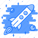 business, job, office, rocket, space, startup, work icon