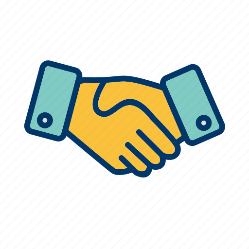agreement, business deal, hand shake icon
