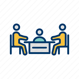 business, conference, meeting, team icon