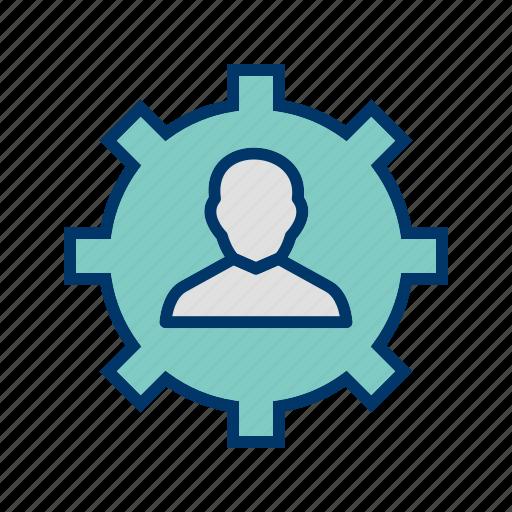 network, organization, team icon