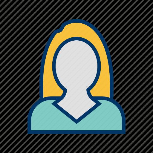 avatar, businesswomen, female icon