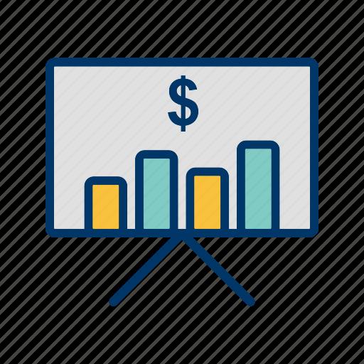business, graph, marketing, plan icon