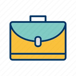 briefcase, business, documents, portfolio icon