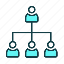 business, finance, hierarcy, marketing, strategy icon