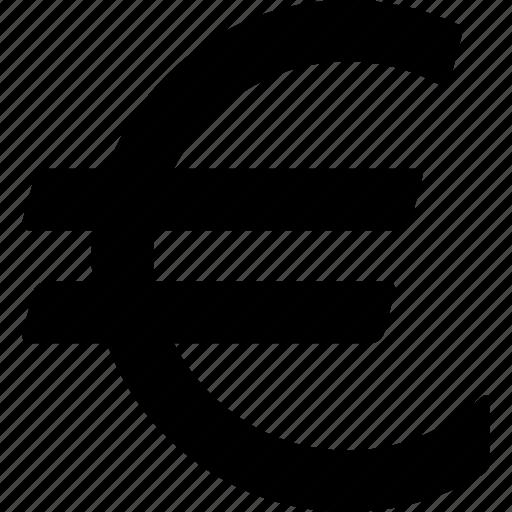 currency, euro, european, money, sign, symbol, union icon