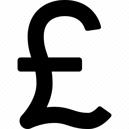 british, currency, money, pound, sign, sterling, symbol icon