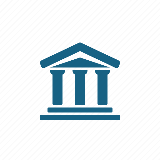 bank, building, courthouse, temple icon