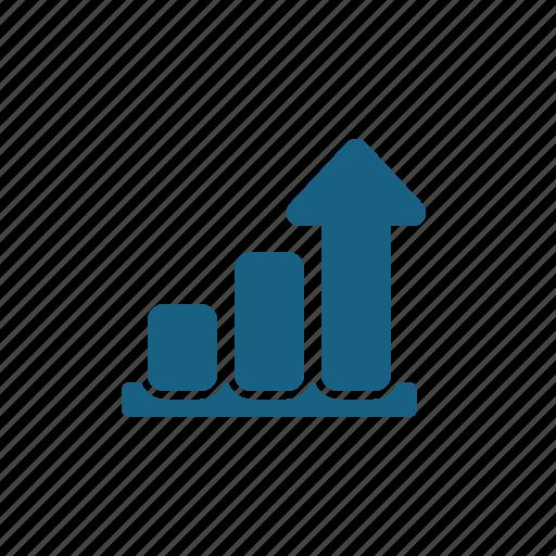 business report, chart, graph, profit icon