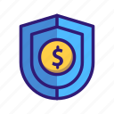 business, business finance, dollar, finance, money, safe, security icon
