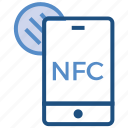 business, business & finance, chip, mobile, nfc, payment icon