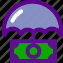 banking, economy, money, protection icon