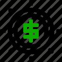 banking, economy, money, shine icon