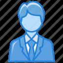 avatar, business man, leader, man, person, team leader