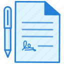 agreement, business, documents icon