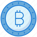 bitcoin, business, coin, money icon