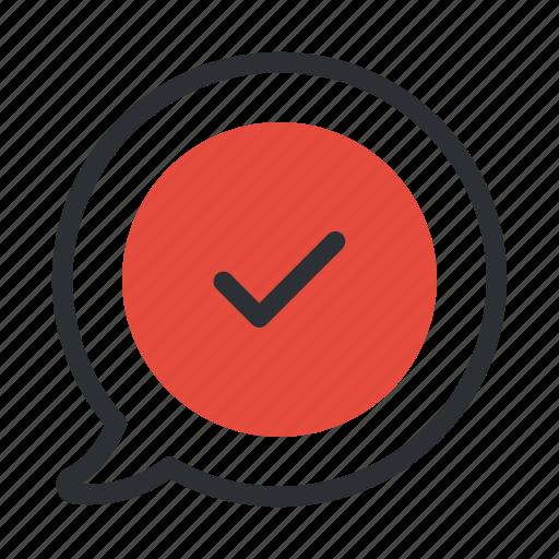accept, check, complete, done, success, tick icon