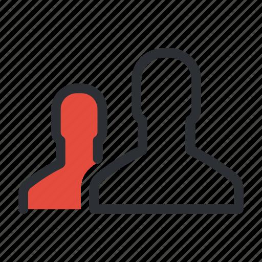 audience, community, men, people, team, users icon