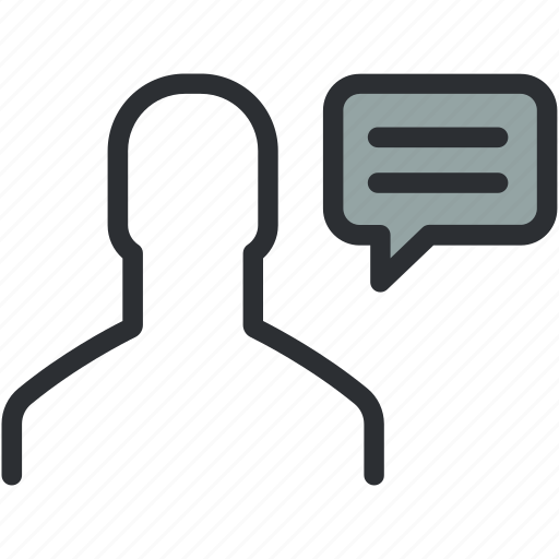 chat, comment, communication, conversation, speech, talk, talking icon