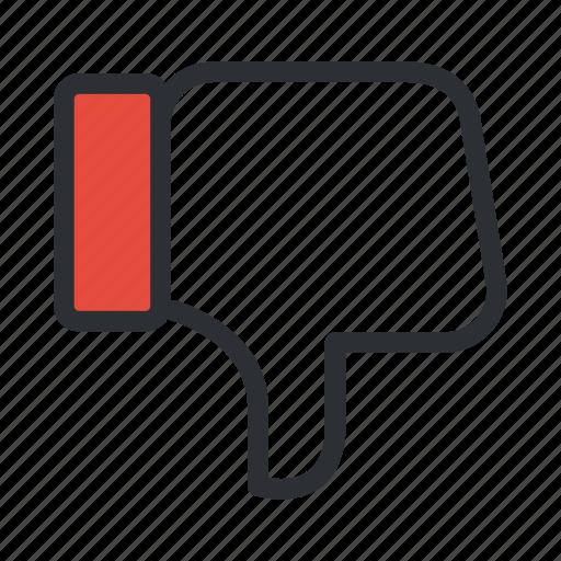 dislike, feedback, like, negative, social icon