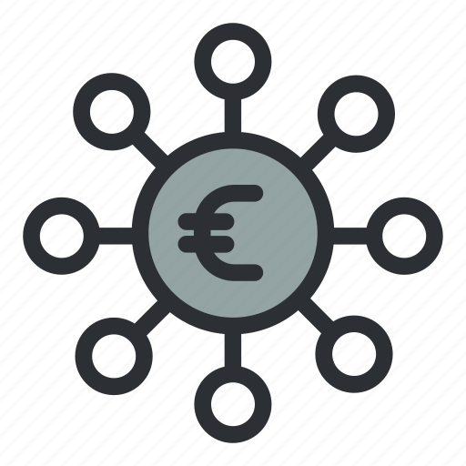 earnings, euro, finance, funding, funds, investment, money icon