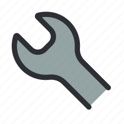 configure, fix, mechanic, repair, support, tool, wrench icon